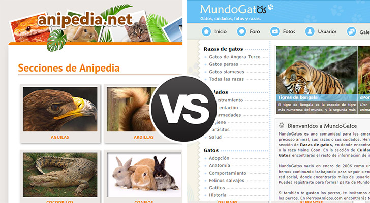 Anipedia vs Mundogatos