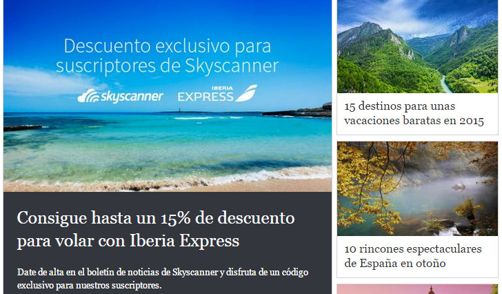 Skyscanner blog